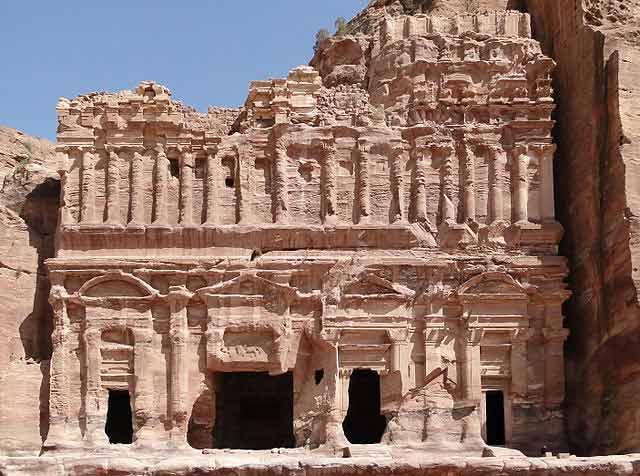 Tumba del Palacio de Petra