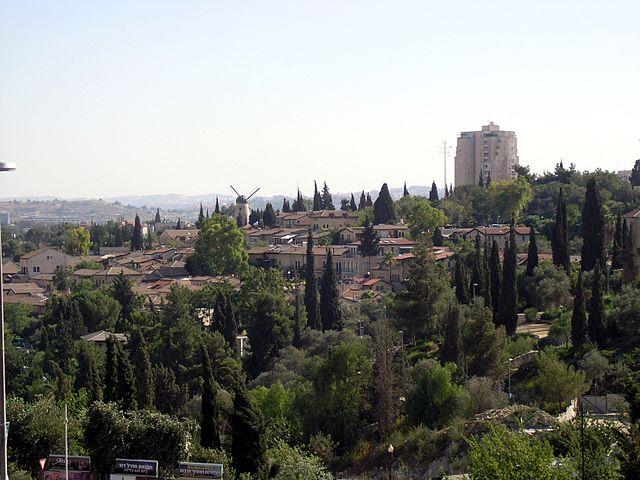 Alojarse en Yemin Moshe en Jerusalén
