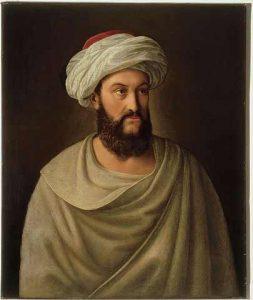 Retrato del descubridor de Petra