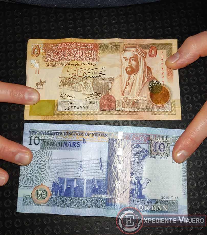 Presupuesto para viajar a Jordania por libre: Dinar jordano