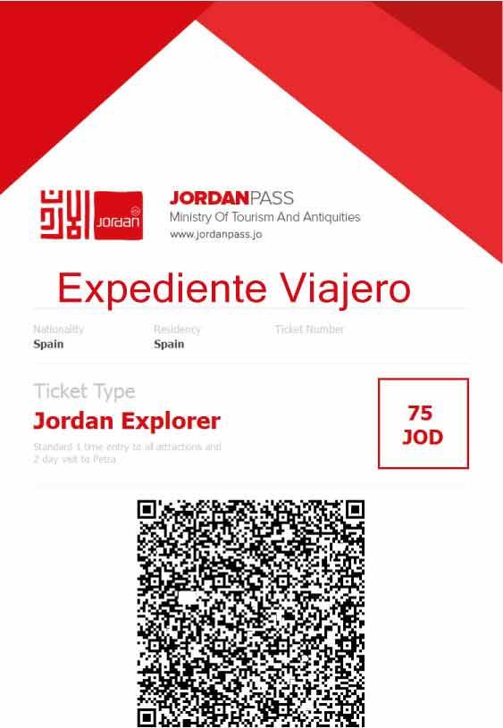Preparativos para viajar a Jordania: Jordan Pass