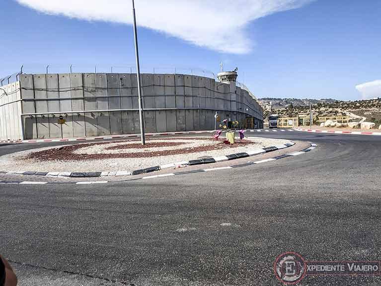 Qué visitar en Belén: Muro Checkpoint 300 entre Belén y Jerusalén