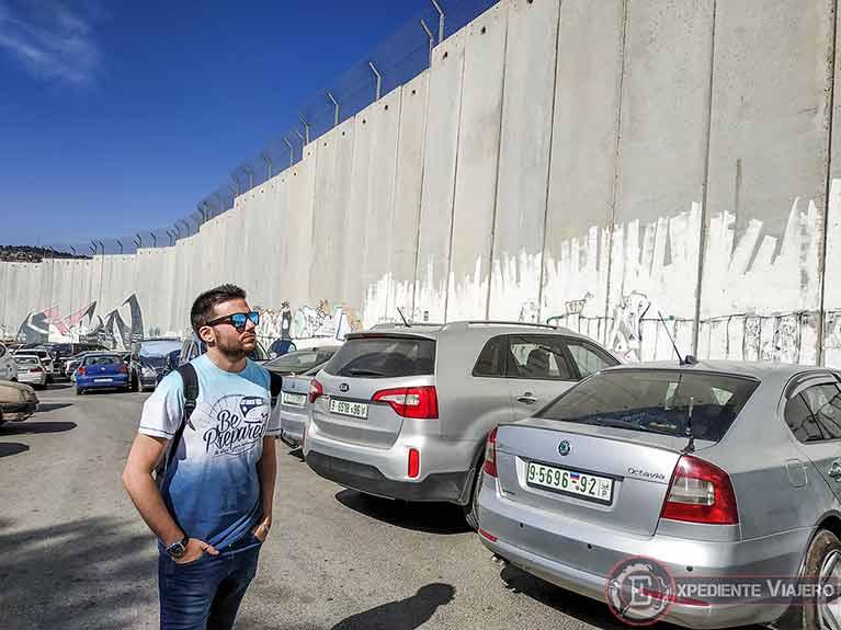 El muro de Belén y Jerusalén