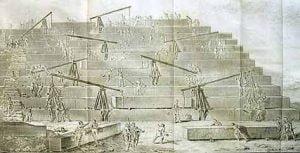 La construcción de las pirámides
