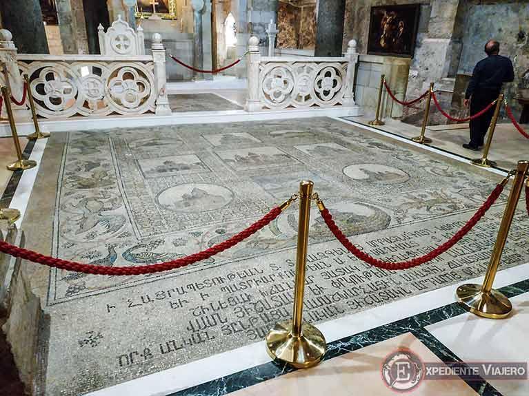 Capilla de Santa Elena en el Santo Sepulcro de Jerusalén