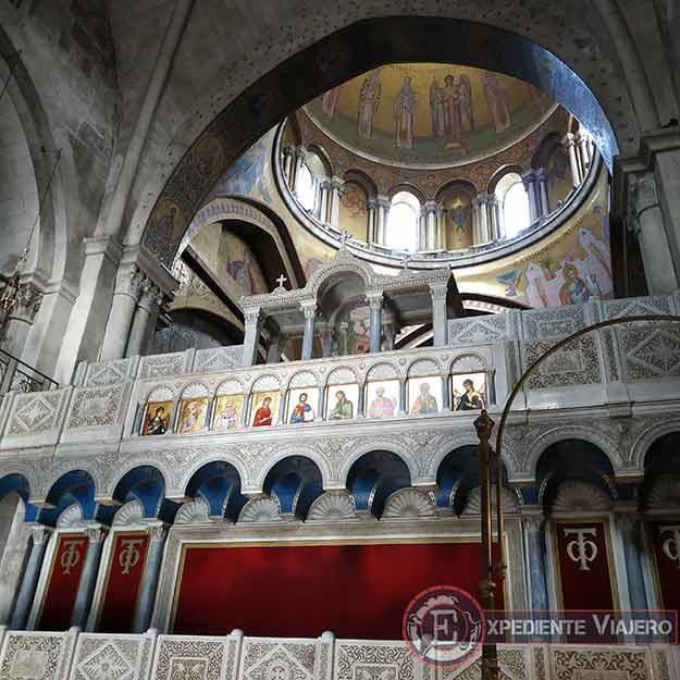 El Coro de los Griegos en el Santo Sepulcro