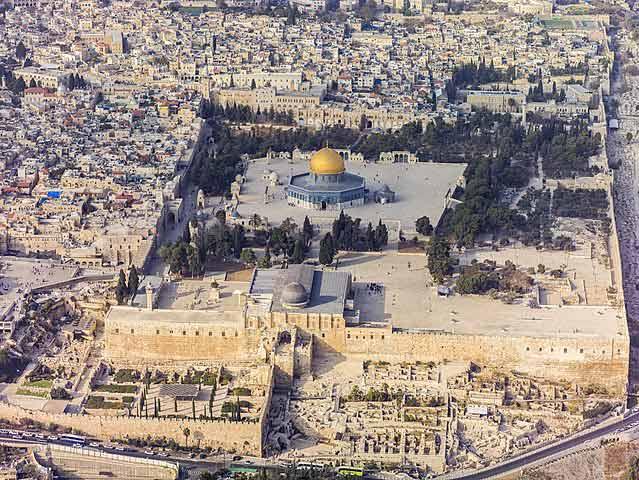 Qué ver en Jerusalén: Explanada de las Mezquitas