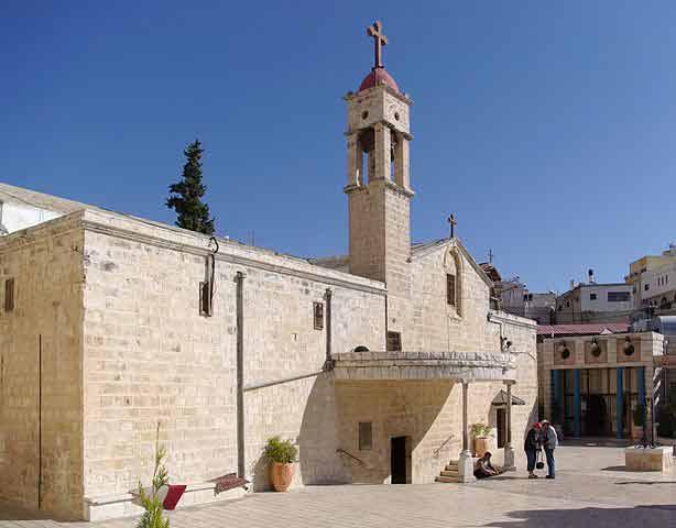 Cómo visitar Nazaret y el Mar de Galilea: Iglesia griega ortodoxa de la Anunciación