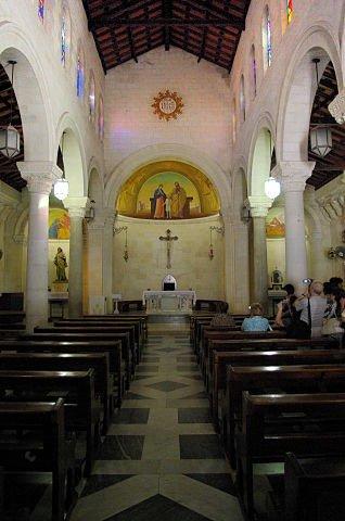 Cómo visitar Nazaret y el Mar de Galilea: Iglesia de San José