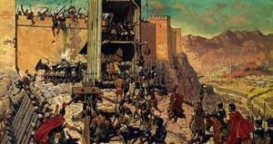 Asedio de Masada por los romanos