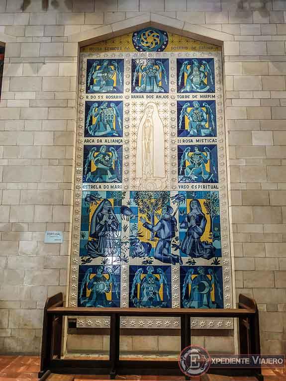 Mosaicos de la Basílica de la Anunciación