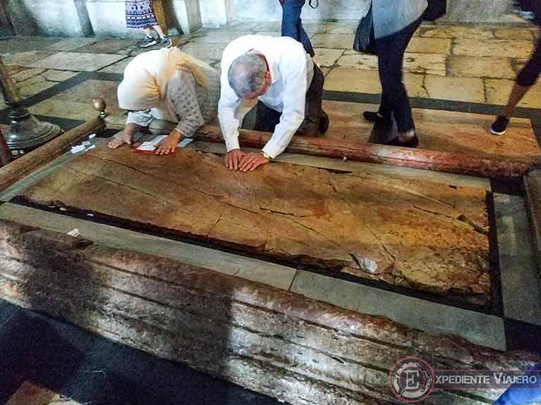 Qué ver en Jerusalén: La Piedra de la Unción