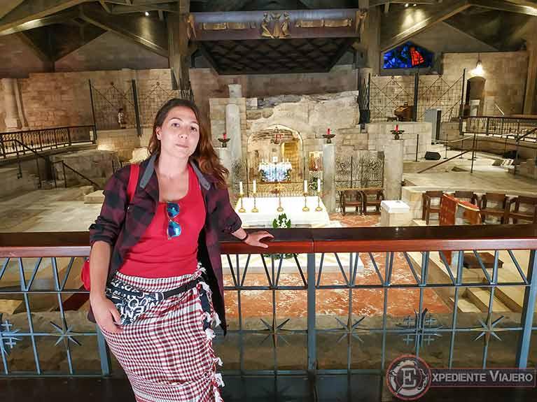Cómo visitar Nazaret y el Mar de Galilea: Gruta de la Anunciación