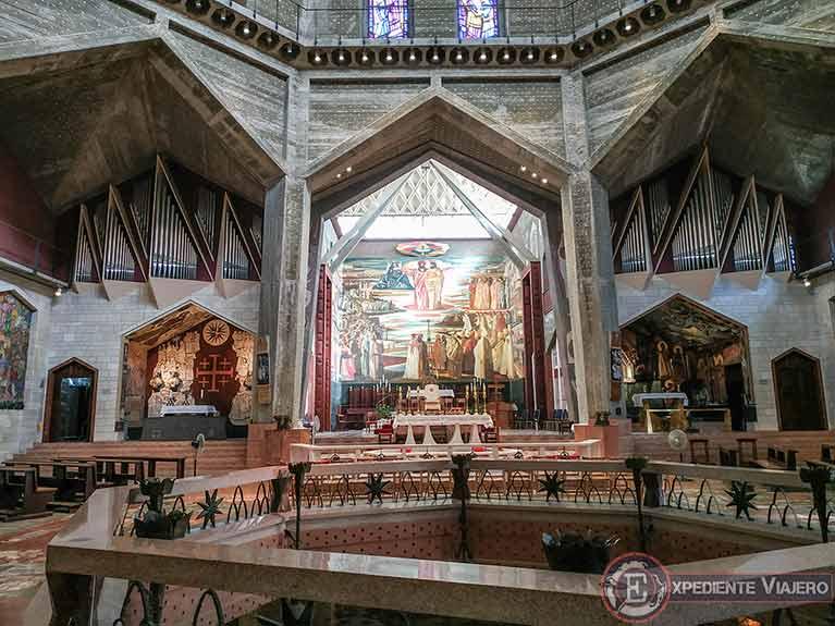 Cómo visitar Nazaret y el Mar de Galilea: Planta superior de la Basílica de la Anunciación