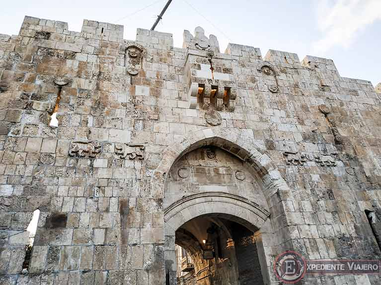 Qué ver en Jerusalén: Puerta de los Leones