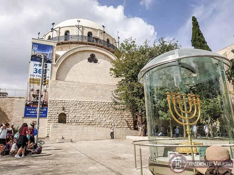 Qué ver en Jerusalén: Sinagoga Hurva y la Menorá de Oro