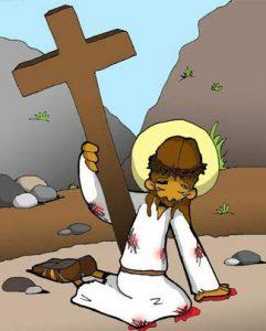 Vía Dolorosa: Segunda caída de Jeesús