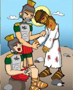Vía Dolorosa: Se reparten la ropa de Jesús