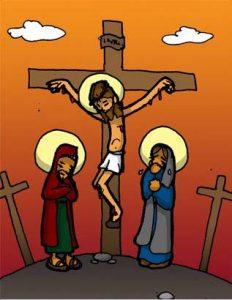 Vía Dolorosa: Jesús muere en la cruz