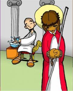 Vía Dolorosa: Jesús es condenado