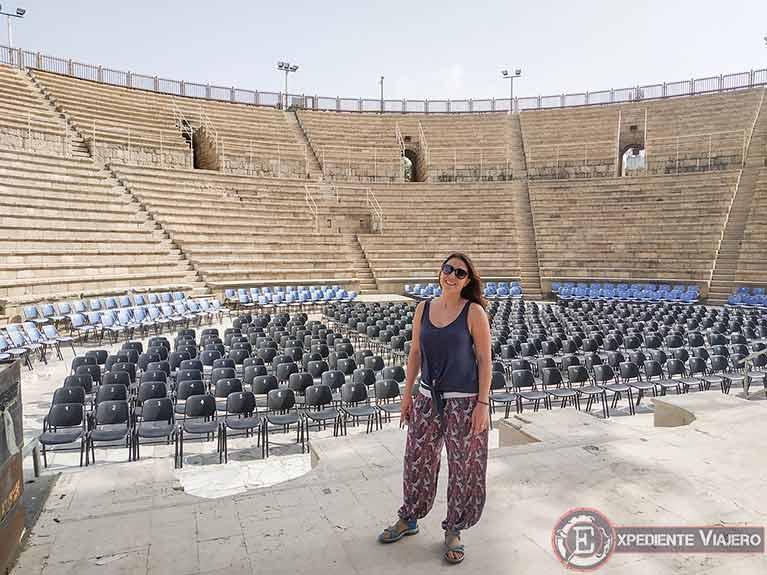 Qué ver en Cesarea: Anfiteatro