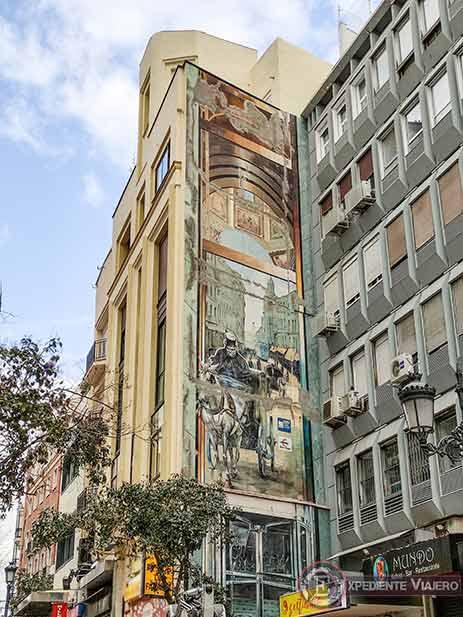 Descubre los murales de arte urbano en Madrid centro y alrededores: Montera del siglo XIX