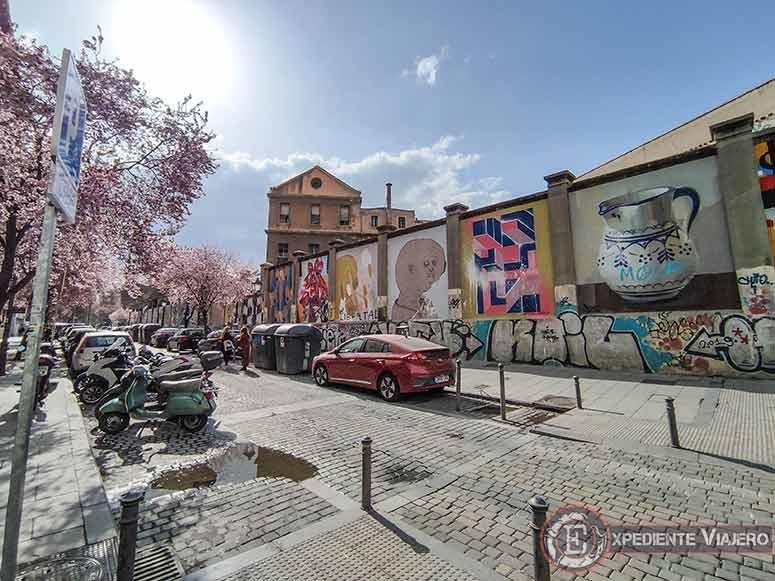 Descubre los murales de arte urbano en Madrid centro y alrededores: La antigua tabacalera