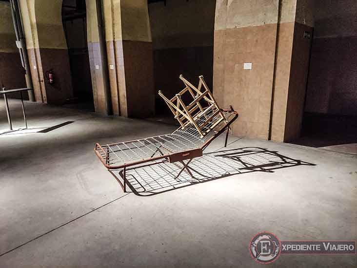 Arte moderno en la antigua tabacalera de Madrid