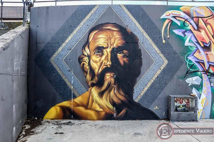 Arte urbano en el Recinto Ferial de Torrejón