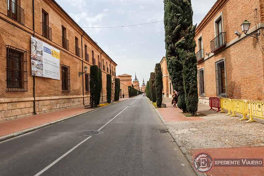 Ruta de un día por Alcalá de Henares: Calle Colegios