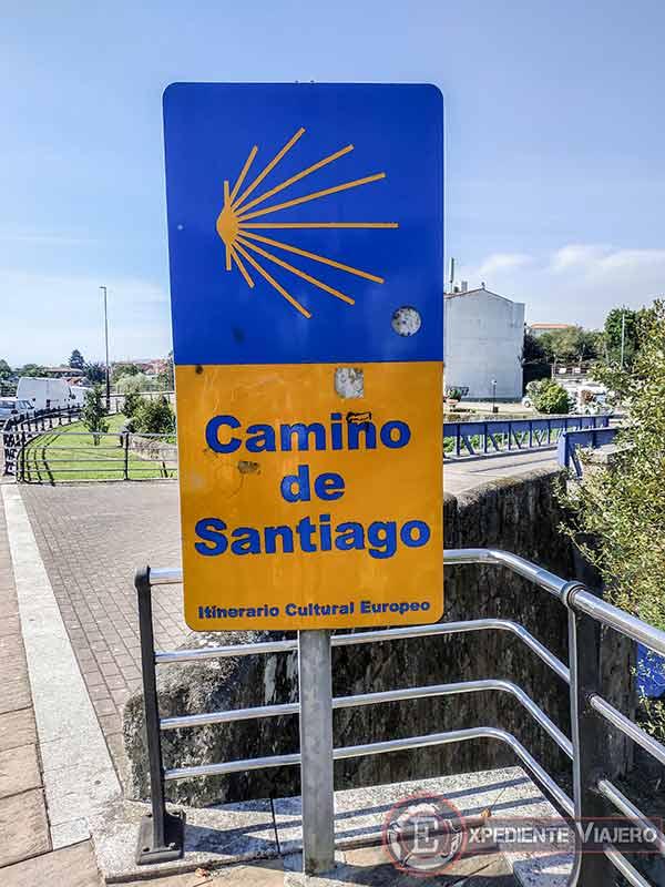 Camino de Santiago portugués en Tui