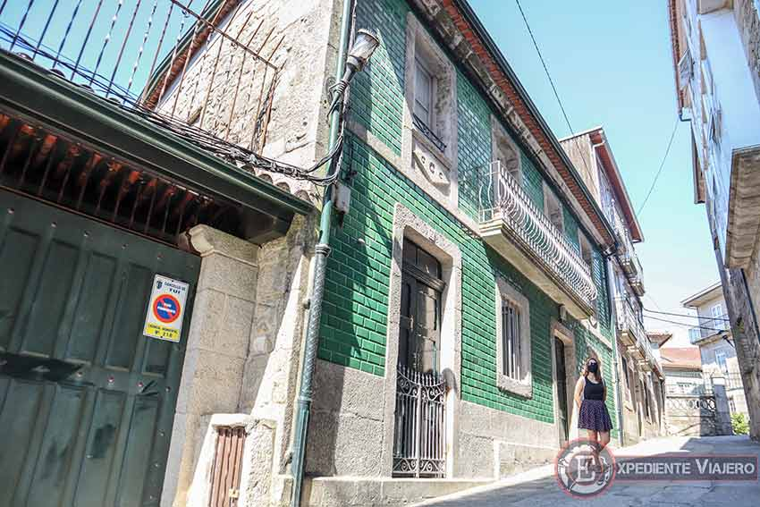 Casas del casco histórico de Tui
