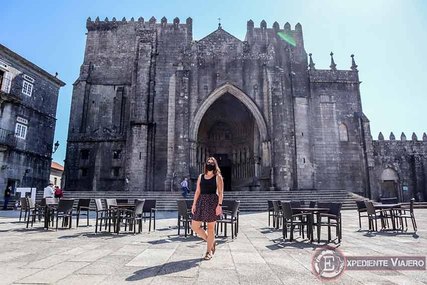 Visitar la Catedral de Tui: Fachada de la Catedral