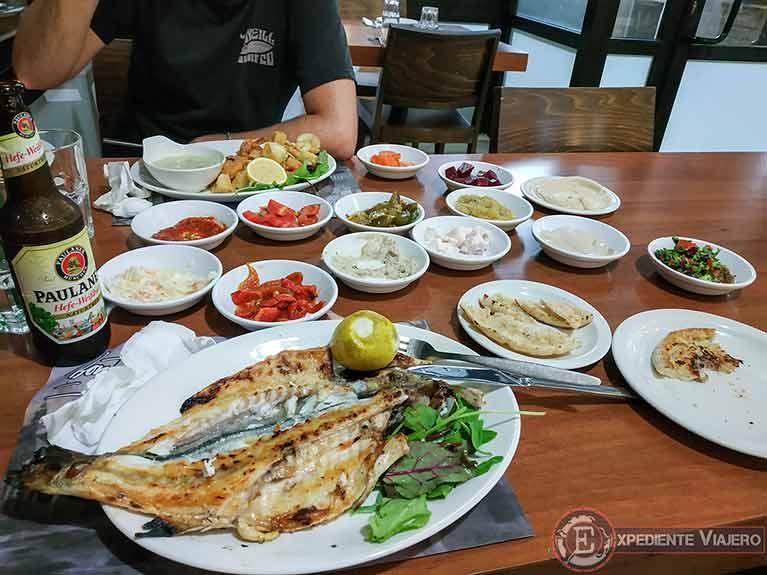 Cena en Haifa