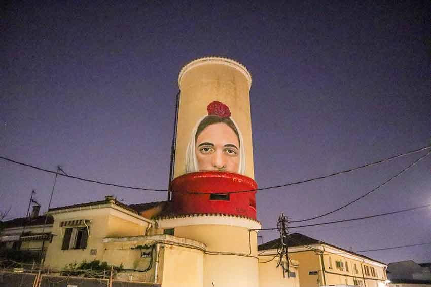 Descubre los murales de arte urbano en Madrid centro y alrededores: La Chulapa de Gerada