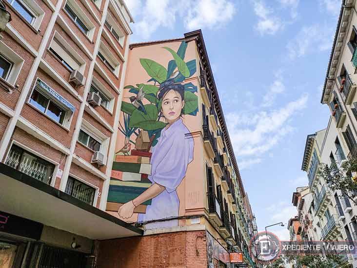 Descubre los murales de arte urbano en Madrid centro y alrededores: Episodios Nacionales