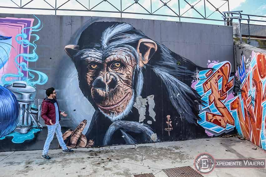 Grafiti de Torrejón: Recinto ferial