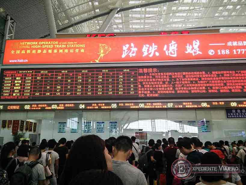 Letreros: Viajar a China sin hablar el idioma