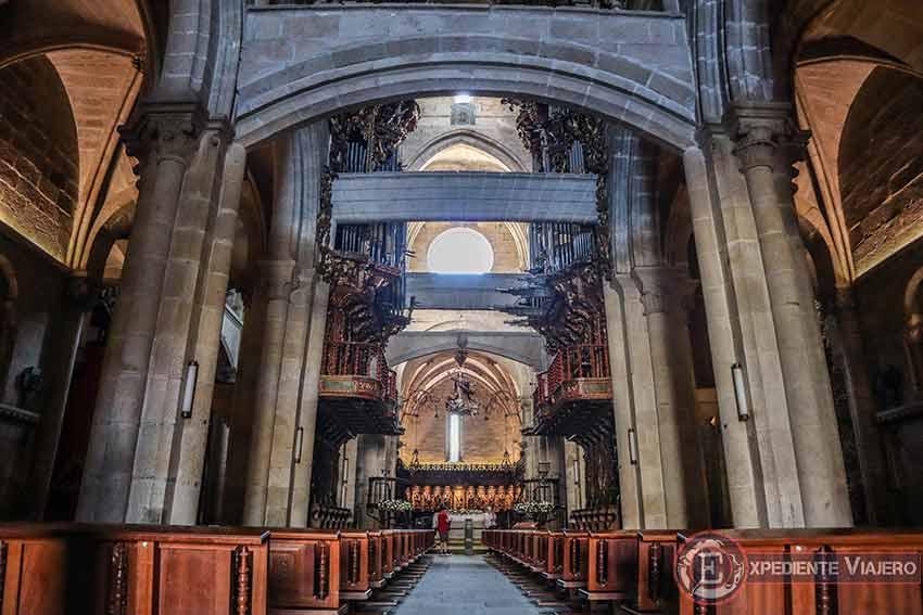 Visitar la Catedral de Tui: Interior