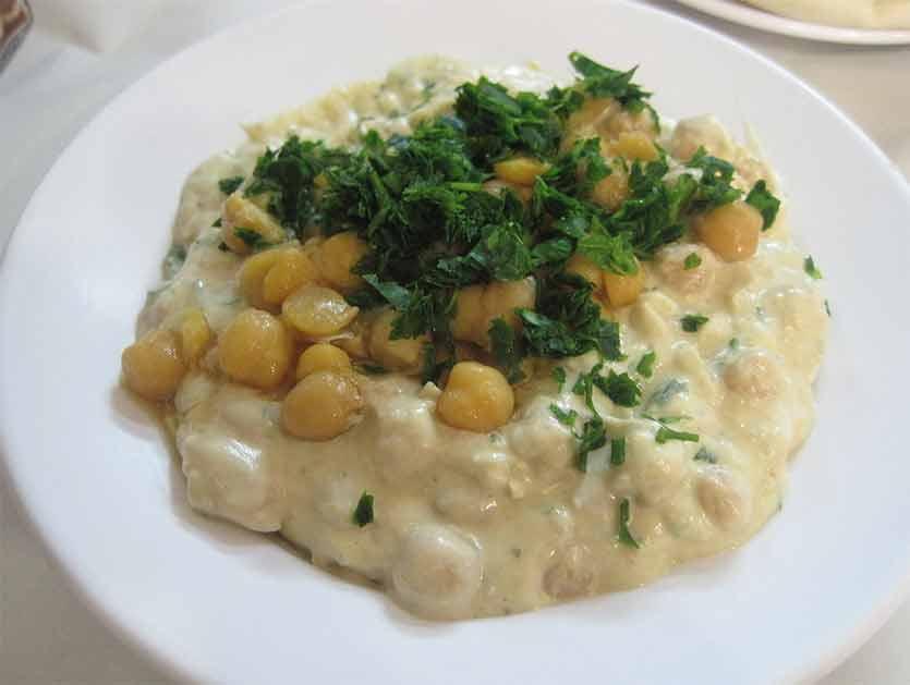 ¿Cuál es la comida típica de Israel y Palestina? Msabbaha