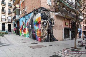 Descubre los murales de arte urbano de Madrid centro y alrededores