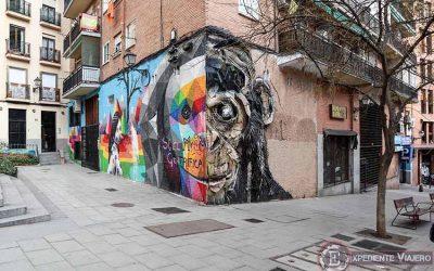 Descubre los murales de arte urbano en Madrid centro y alrededores