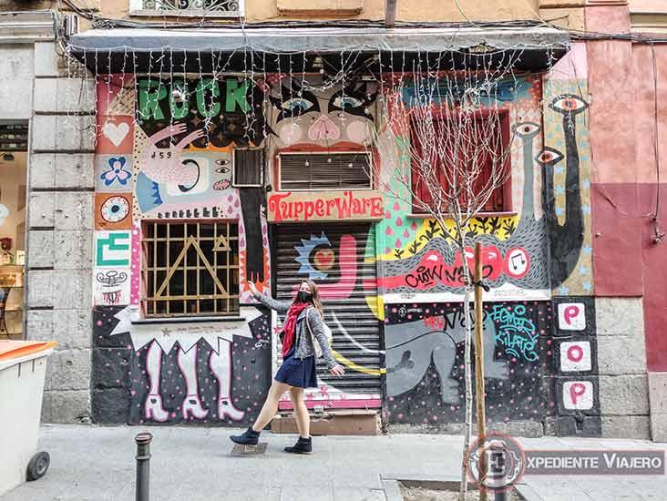 Descubre los murales de arte urbano en Madrid centro y alrededores: Malasaña