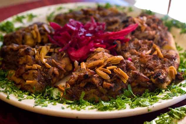 ¿Cuál es la comida típica de Israel y Palestina? Musakhan