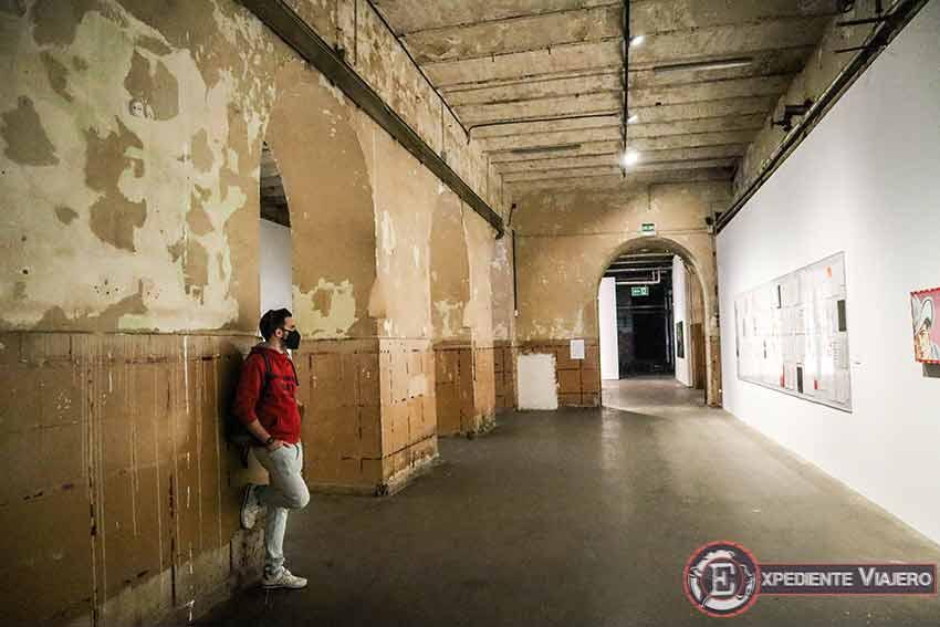 Interior de la Tabacalera de Madrid