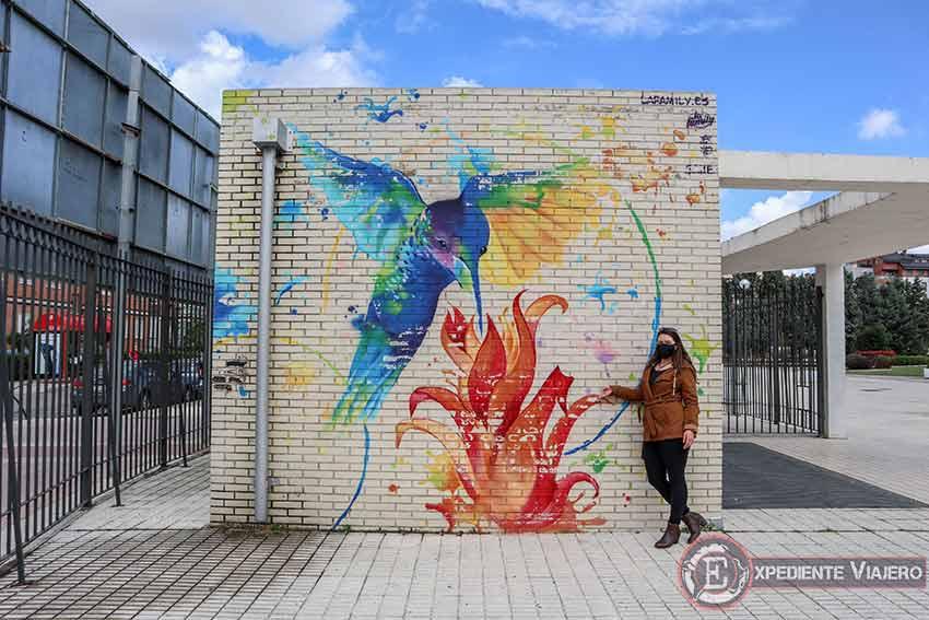 Arte urbano en el Parque Rosario de Torrejón