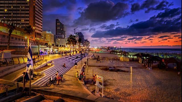 Dónde alojarse en Tel Aviv: Paseo marítimo