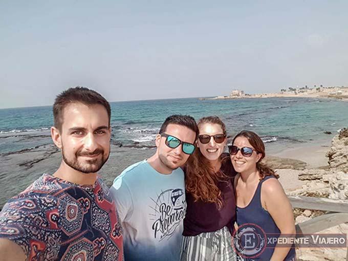 Qué ver en Cesarea: Playa