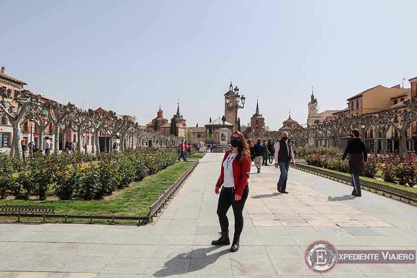 Ruta de un día por Alcalá de Henares: Plaza Cervantes