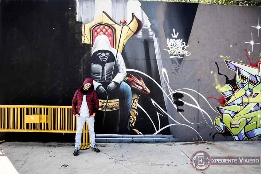 Mural en el Recinto Ferial de Torrejón